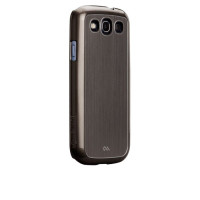 Case Mate Barely There Aluminum כסף לגלקסי 3