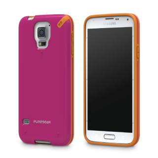 PureGear Slim Shell ורוד לגלקסי 5