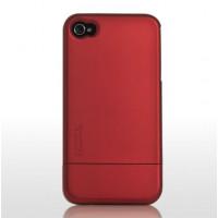 Skech Hard Rubber אדום כיסוי לאייפון 4 / 4S iPhone