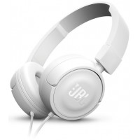 אוזניות JBL T450 - לבן