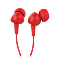 אוזניות חוטיות JBL C100SI - אדום