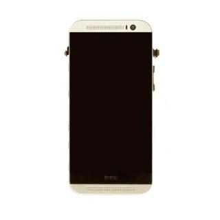 החלפת מסך LCD+מגע מקורי HTC One M8