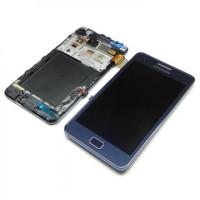 החלפת מסך LCD+מגע מקוריםי Samsung Galaxy S2 כולל מסגרת