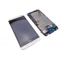 החלפת מסך LCD+מגע מקורי HTC One M7