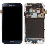 החלפת מסך LCD+מגע מקוריים Samsung Galaxy S4 כולל מסגרת