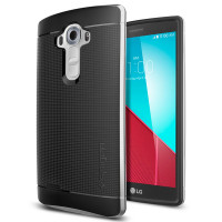 Spigen Neo Hybrid כסף LG G4