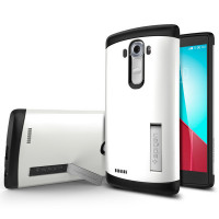 Spigen Slim Armor לבן LG G4