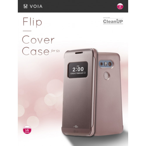מסודר VIOA כיסוי חכם מקורי ל LG G5 - MobileCity XK-92